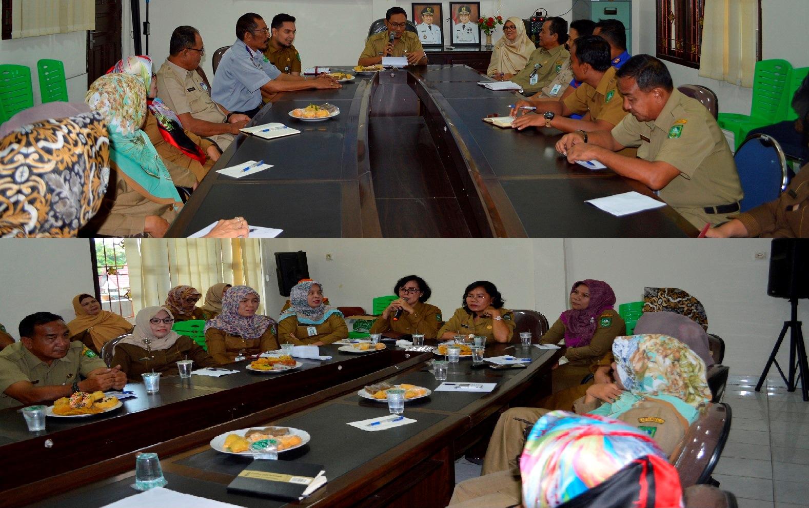Rapat Koordinasi Rakor Pemerintah Kecamatan Mandau